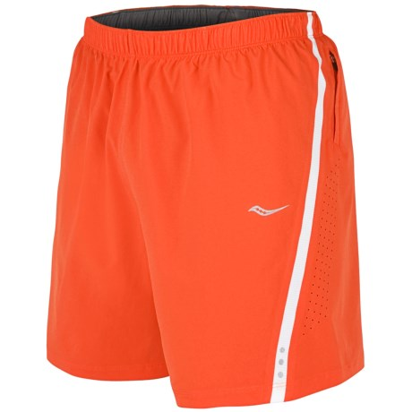 Saucony Run Lux III Shorts - Built-In Brief (For Men)