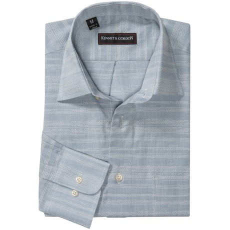 Kenneth Gordon Spread Collar Sport Shirt - Long Sleeve (For Men)