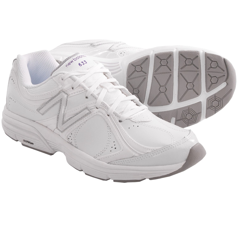 new balance white running shoes