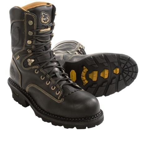 "Georgia Boot 9"" Gore-Tex® Comfort Core Logger Boots - Waterproof, Composite Toe (For Men)"