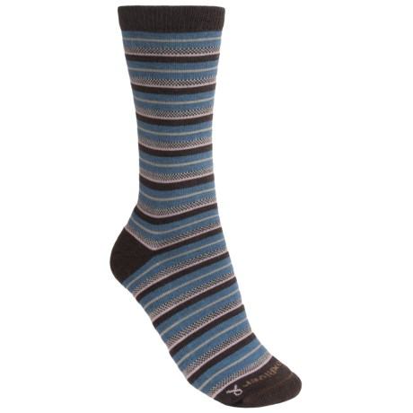 Fox River Striper Socks - Merino Wool, Crew (For Women)