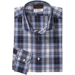 Thomas Dean Cotton Multi-Plaid Shirt - Long Sleeve (For Men)