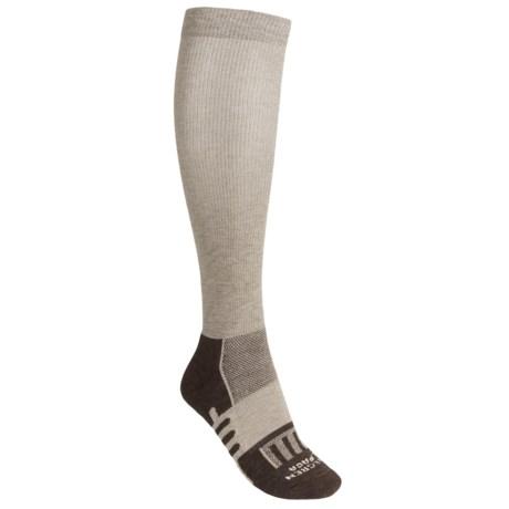 Dahlgren Compression Socks - Merino Wool-Alpaca, Midweight, Over-the-Calf (For Women)