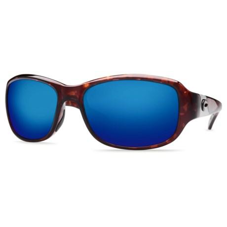 Costa Las Olas Sunglasses - Polarized 400G Glass Mirror Lenses