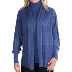 Lafayette 148 New York Lino Cardigan Sweater - Double Layer (For Women)