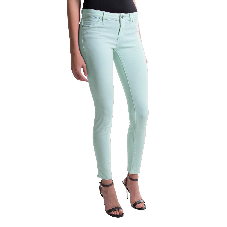 Green Skinny Jeans Women