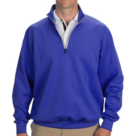 Fairway & Greene Luxury Tech Pullover - Zip Neck, Long Sleeve (For Men)