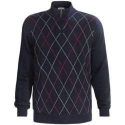 Fairway & Greene Merino Baruffa Sweater - Argyle (For Men)