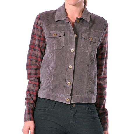 Gramicci Holly Corduroy Jean Jacket (For Women)
