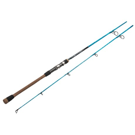 Wright & McGill Co. Wright & McGill Blair Wiggins Flats Blue S-Curve Surf Rod - 8', 2-Piece