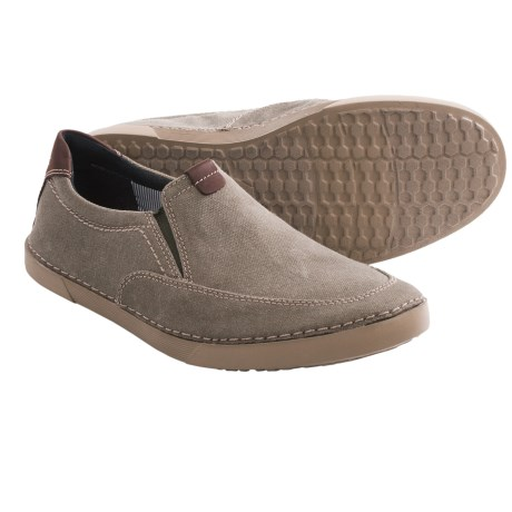 Clarks Neelix Fly Shoes - Canvas, Slip-Ons (For Men)