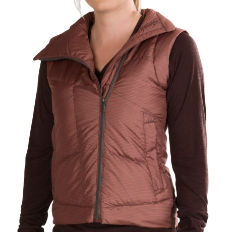 NAU Down Check Vest - 800 Fill Power (For Women)