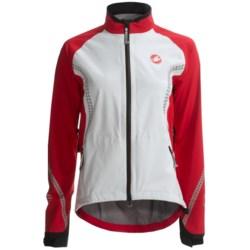 Castelli GDP Cycling Rain Jacket - Waterproof (For Women)