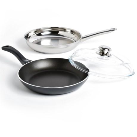 """WMF 11"""" Starter Set 3 Frying Pan Set - 3-Piece"""