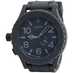 Nixon 51-30 Chronograph Watch - Rubber Strap (For Men and Women)