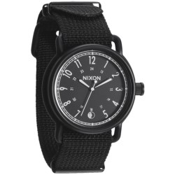 Nixon Axe Plated Watch - Nylon Band (For Men and Women)