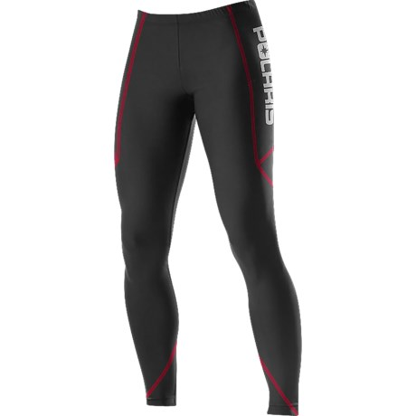 Polaris Black Ice Base Layer Bottoms - Midweight (For Men)