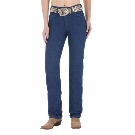 Wrangler Prewashed Classic Cowboy Cut Jeans - Slim Fit, Tapered Leg (For Women)