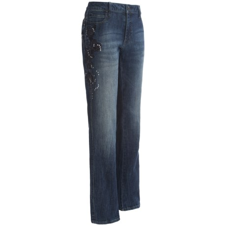 Wrangler Rock 47 Western Bling Jeans - Low Rise, Bootcut (For Women)