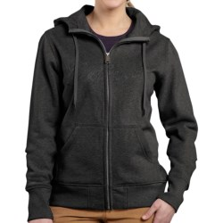 Carhartt Clarksburg Sweatshirt - Zip Front (For Women)