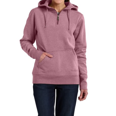 Carhartt Clarksburg Hoodie - Zip Neck (For Women)