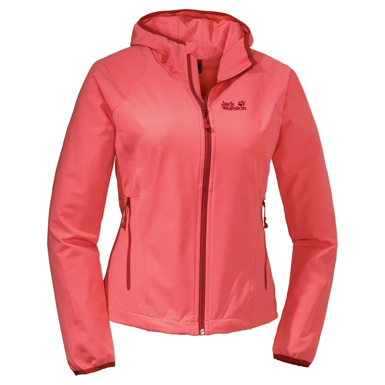 Jack Wolfskin Turbulence Soft Shell Jacket (For Women). Click to expand