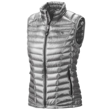 Mountain Hardwear Ghost Whisperer Q.Shield® Down Vest - 800 Fill Power (For Women)