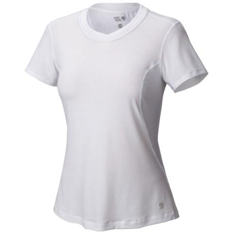 Mountain Hardwear Coolhiker Cool.Q Zero Shirt - UPF 25, Short Sleeve (For Women)