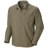 Mountain Hardwear Chiller Cool.Q Zero Shirt - UPF 30+, Long Sleeve (For Men)