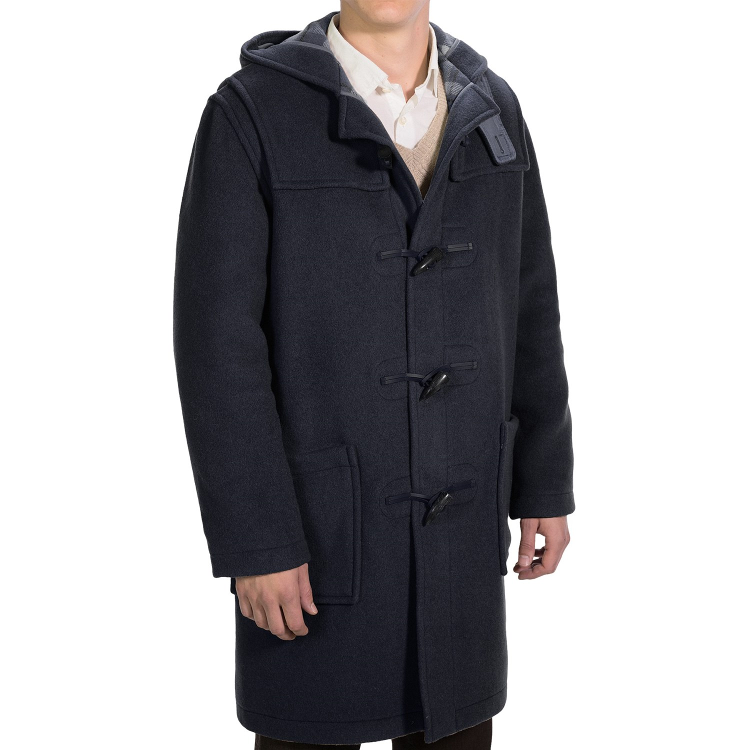 montgomery by john partridge duffle coat for men 7806k. Black Bedroom Furniture Sets. Home Design Ideas