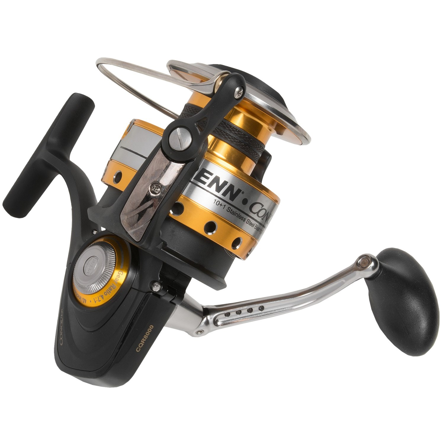 Penn conquer 8000 spinning reel 7808k save 25 for Penn fishing reel