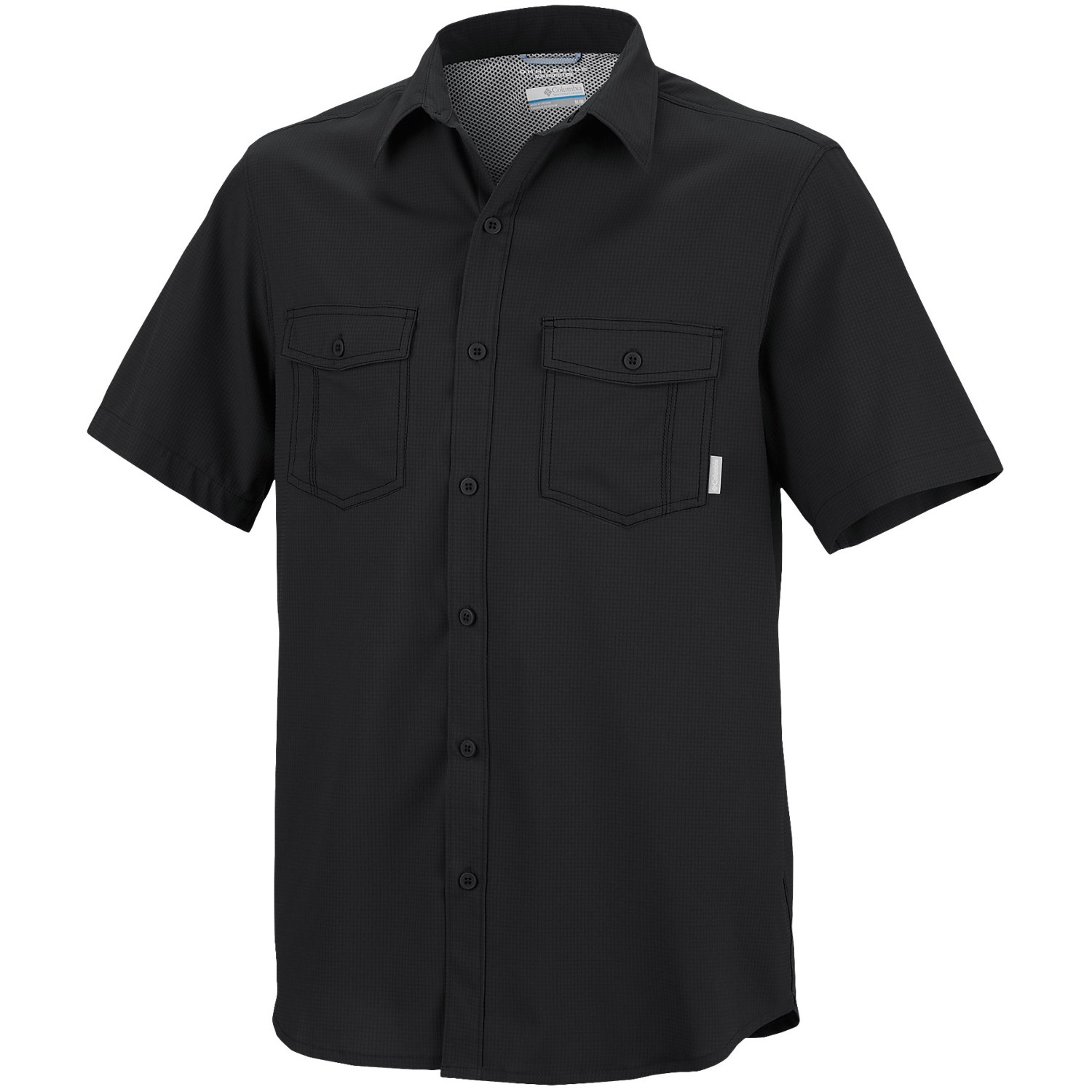 Columbia sportswear utilizer solid shirt for big and tall for Big and tall quick dry shirts