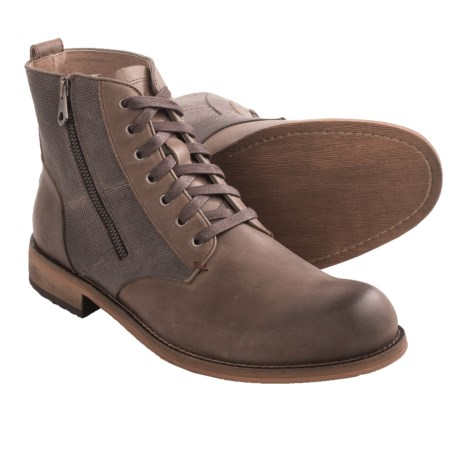 Andrew Marc Forest Boots - Leather and Canvas (For Men)