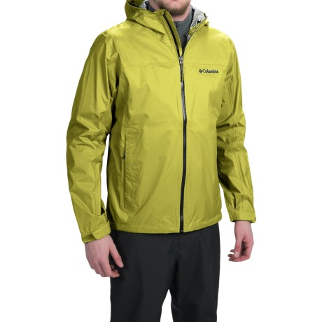 Columbia Sportswear EvaPOURration Omni-Tech® Jacket - Waterproof  (For Men)