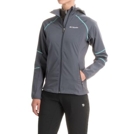 Columbia Sportswear Sweet As II Soft Shell Hoodie Jacket (For Women)