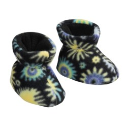 Acorn Easy Fleece Booties (For Kids)