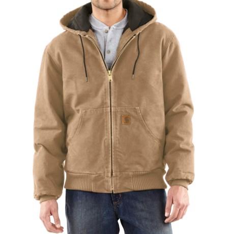 Carhartt Sandstone Active Jacket - Washed Duck, Factory Seconds (For Big Men)