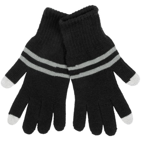 Grand Sierra Knit Gloves - Touchscreen Compatible (For Men)