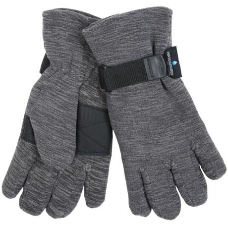 Grand Sierra Melange Fleece Gloves - Waterproof, Insulated (For Men)