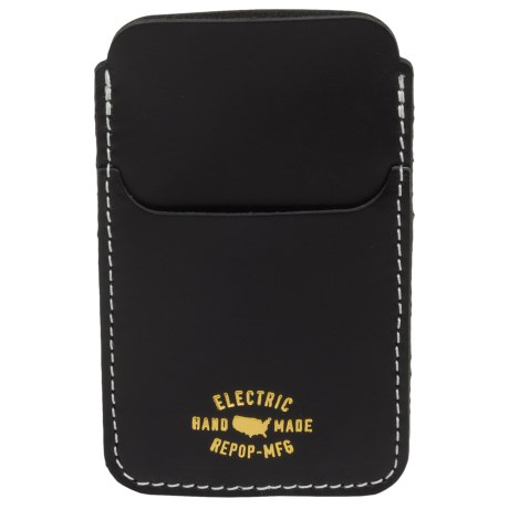 Electric Wells iPhone® Case - Leather (For Men)