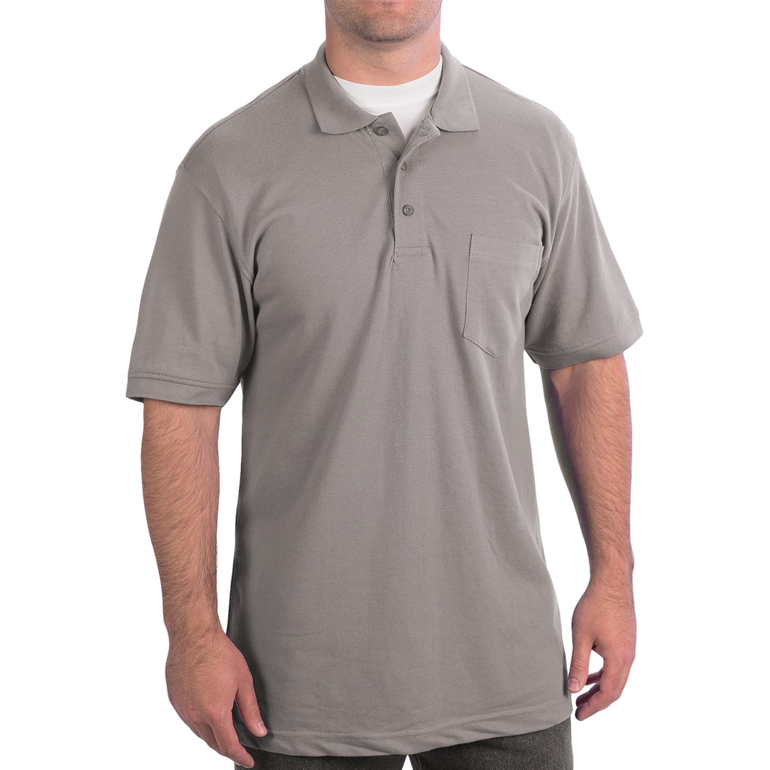 Wearguard weartuff pique polo shirt for men 7873p save 76 for Men s polo shirts with chest pocket