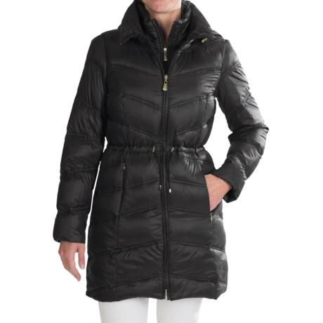 Ellen Tracy Outerwear Ellen Tracy Anorak Packable Down Parka- 550+ Fill Power  (For Women)