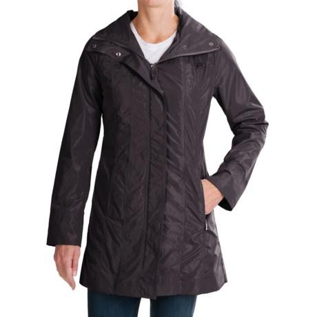 Ellen Tracy Outerwear Ellen Tracy Packable Rain Coat (For Women)