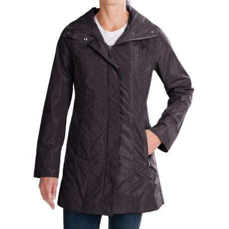 Ellen Tracy Outerwear Ellen Tracy Packable Rain Coat (For Women)