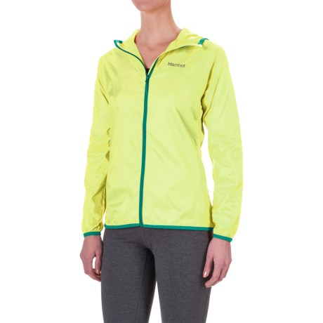 Marmot Trail Wind Hoodie Jacket - Water Repellent (For Women)