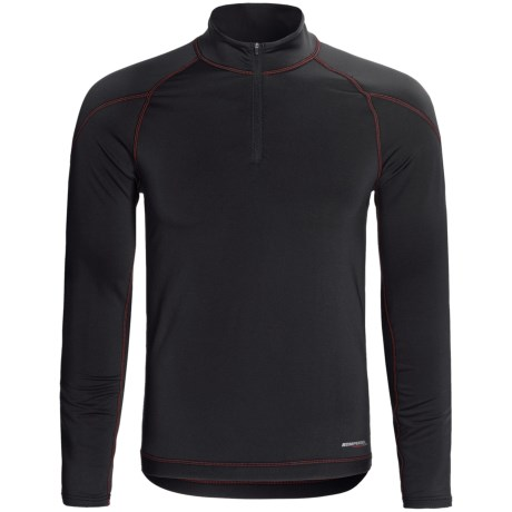 Komperdell BC Flex Fleece Base Layer Top - Midweight, Zip Neck, Long Sleeve (For Men)