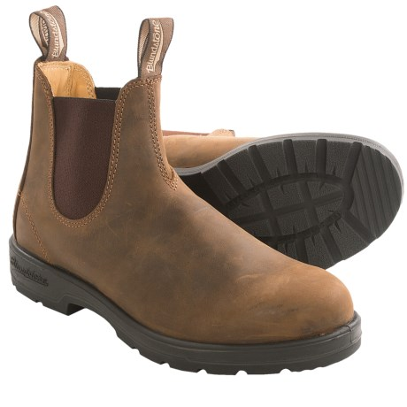Blundstone Oiled Nubuck Pull-On Boots - Factory 2nds (For Men and Women)
