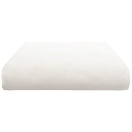 Coyuchi Organic Cotton Percale Flat Sheet - Twin, 300 TC