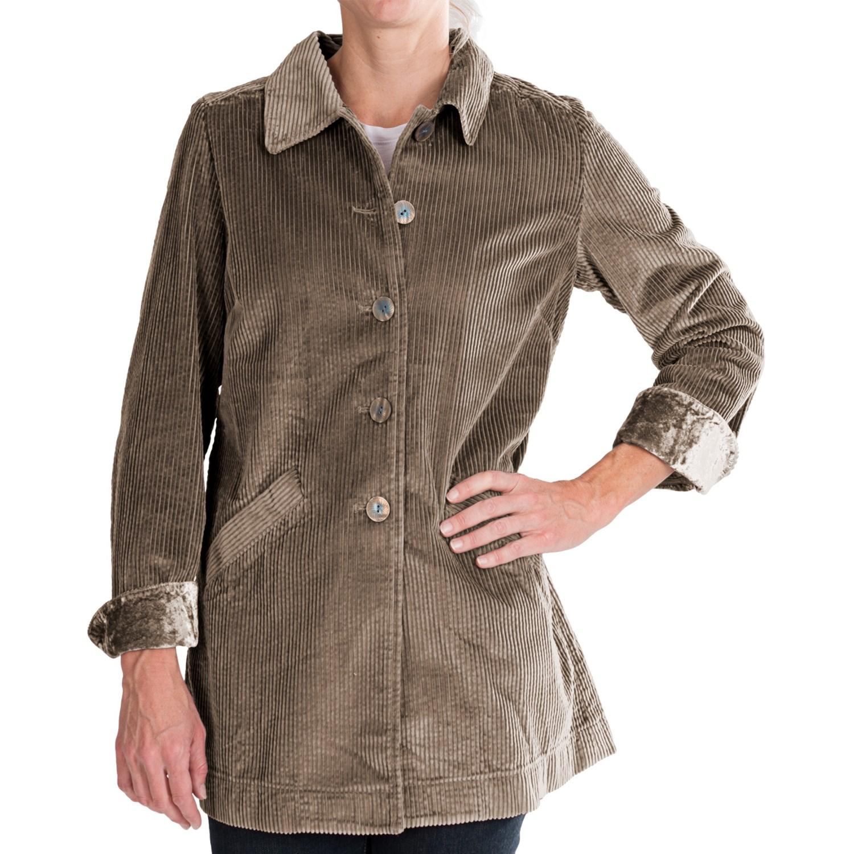 Corduroy jackets women