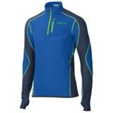 Marmot Thermo Polartec® Power Dry® Shirt - Zip Neck, Long Sleeve (For Men)
